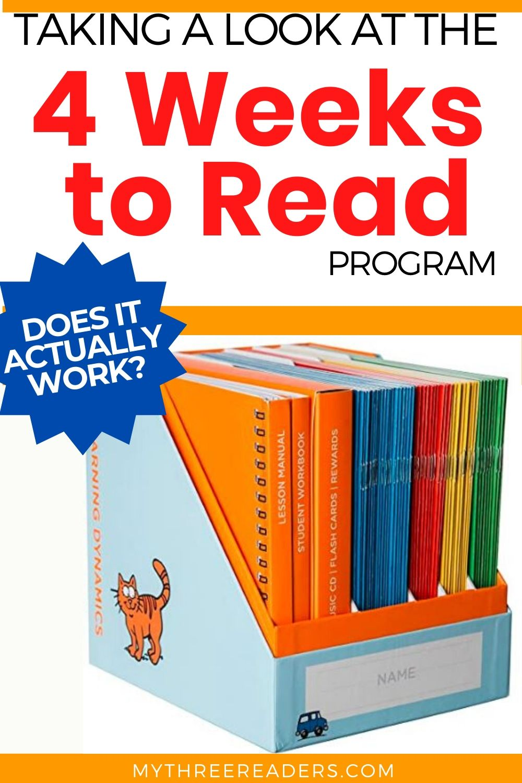 4 weeks to read program